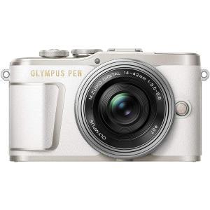 オリンパス OLYMPUS ミラーレス一眼 PEN E-PL9 レンズキット ホワイト 新品SDカー...