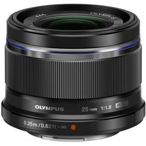 オリンパス OLYMPUS M.ZUIKO DIGITAL 25mm F1.8 ブラック 単焦点レン...