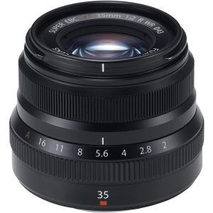 フジフィルム FUJIFILM 単焦点標準レンズ XF35mmF2R WR B ブラック <プレゼン...