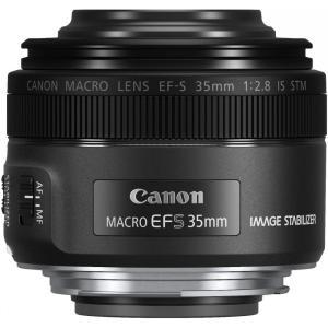 キヤノン Canon 単焦点マクロレンズ EF-S35mm F2.8 マクロ IS STM APS-...