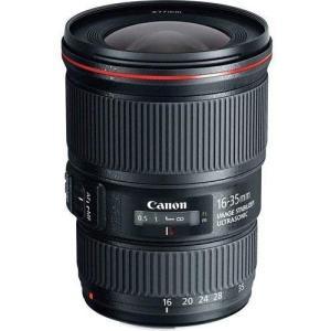 キヤノン Canon 広角ズームレンズ EF16-35mm F4L IS USM フルサイズ対応 E...