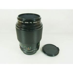 キヤノン Canon MFレンズ NewFD 100mm F4 macro