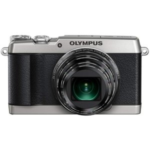 オリンパス OLYMPUS デジタルカメラ STYLUS SH-1 シルバー 新品SDカード付き  ...