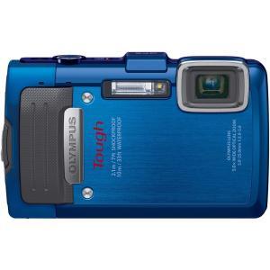 オリンパス OLYMPUS デジタルカメラ STYLUS TG-835 Tough ブルー 新品SD...
