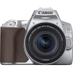 キヤノン Canon  EOS Kiss X10シルバー EF-S18-55 IS STM レンズキ...