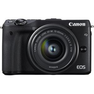 キヤノン Canon EOS M3 レンズキット ブラック  EF-M15-45mm F3.5-6....