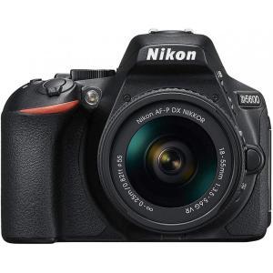 ニコン Nikon D5600 AF-P 18-55 VR レンズキット ブラック D5600LKB...