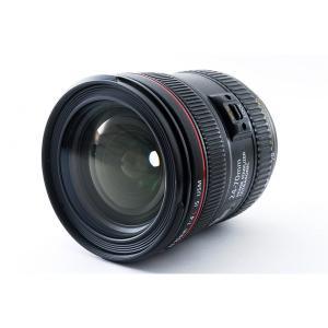 キヤノン CANON EF 24-70mm F/4 L IS USM 美品 EW-83L レンズフー...