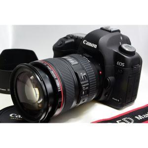 キヤノン Canon 5D Mark II 24-105mm F4L レンズセット 美品 ストラップ...