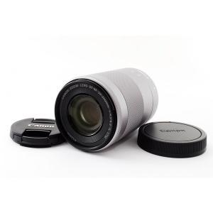 キヤノン Canon EF-M 55-200mm F4.5-6.3 IS STM シルバー 美品 E...