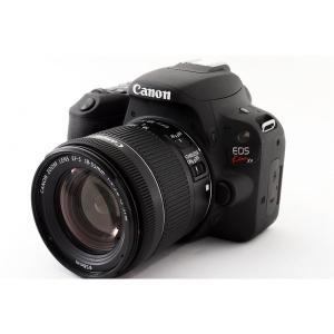 キヤノン Canon EOS Kiss X9 ブラック レンズキット 美品  8GB新品SDカード、...