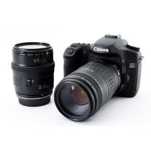 キヤノン Canon EOS 50D 標準&超望遠ダブルズームセット 美品 本格一眼レフのイチ押しカ...