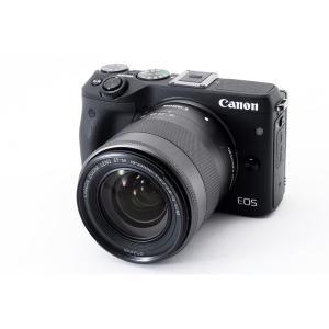 キヤノン Canon EOS M3 ブラック レンズキット Wi-Fiでストラップ付き <プレゼント...