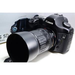 キヤノン Canon EOS 5D レンズキット 美品 1/8000秒の高速シャッター ストラップ付...