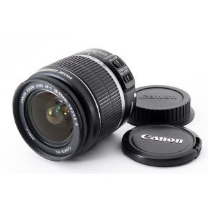 キヤノン CANON EF-S 18-55mm f/3.5-5.6 IS 美品 望遠ズームレンズ 交...