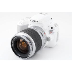 キヤノン Canon EOS Kiss X9 ホワイト レンズセット 美品 8GB新品SDカード付き...