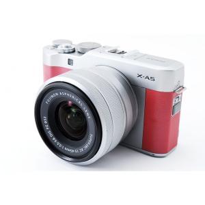 フジフィルム Fujifilm X-A5 ピンク レンズキット 美品 小型軽量ボディ Bluetoo...