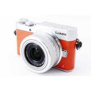 パナソニック Panasonic  ミラーレス一眼 LUMIX DC-GF9 オレンジ レンズキット...