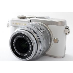 オリンパス OLYMPUS ミラーレス一眼 Pen E-PL9 レンズセット ホワイト 美品 Wi-...