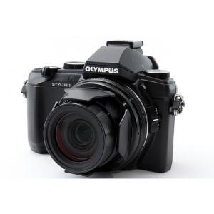 オリンパス OLYMPUS STYLUS 1 コンパクトデジタルカメラ ブラック 美品 スマホへ転送...