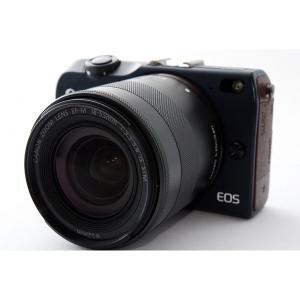 キヤノン Canon EOS M2 レンズキット ベイブルー 美品 新品SDカード付き <プレゼント...