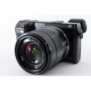 ソニー SONY  α NEX-7 レンズキット ブラック 美品 新品SDカード、レンズフード、元箱...