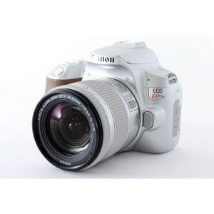 キヤノン Canon EOS Kiss X10 レンズキット シルバー 美品  バリアングルモニター...