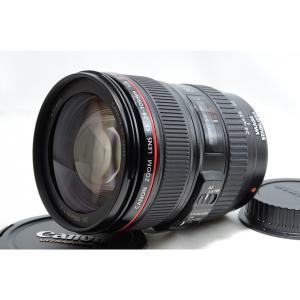 キヤノン Canon EF 24-105mm f/4 L IS USM 美品 標準ズームレンズ 望遠...