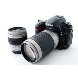 ニコン Nikon デジタル一眼レフ D750 標準&超望遠ダブルレンズセット 美品 新品SDカード...