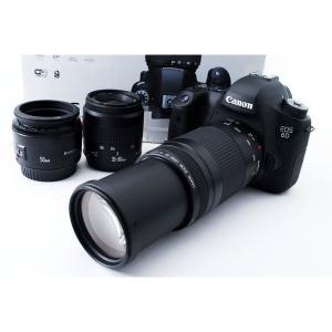 キヤノン Canon デジタル一眼レフ EOS 6D 標準&超望遠&単焦点トリプルレンズスペシャルセ...