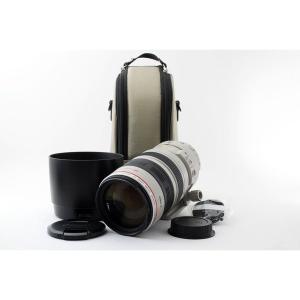 キヤノン Canon EF 100-400mm F4.5-5.6L IS USM レンズ 美品 フー...