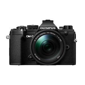 オリンパス OM-D E-M5 Mark III 14-150mm II レンズキット ブラック ミラーレス一眼カメラ カメラの大林PayPayモール店