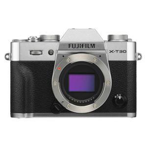 FUJIFILM フジフイルム ミラーレス一眼カメラ X-T30 シルバー ボディ