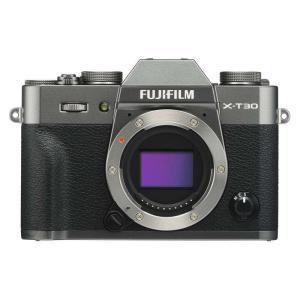 FUJIFILM フジフイルム ミラーレス一眼カメラ X-T30 チャコールシルバー ボディ
