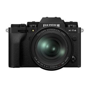 フジフイルム  X-T4 XF16-80mmレンズキット ブラック ミラーレス一眼|カメラの大林PayPayモール店