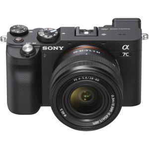 SONY α7C ズームレンズキット ブラック ILCE-7CL B|カメラの大林PayPayモール店