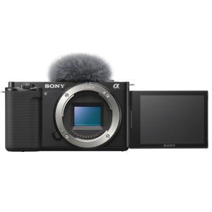 SONY VLOGCAM ZV-E10 B ボディ ブラック|カメラの大林PayPayモール店