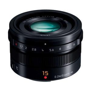 パナソニック LEICA DG SUMMILUX 15mm / F1.7 ASPH. ブラック (H...