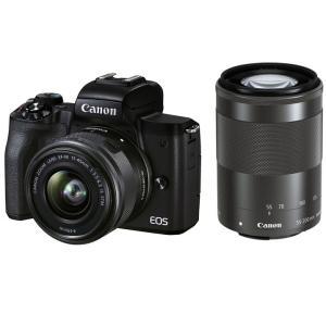 Canon EOS Kiss M2 ダブルズームキット ブラック