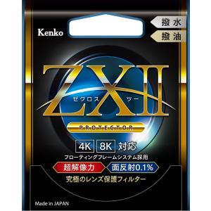 【ネコポス】ケンコー 72mm ZX II プロテクター レンズ保護フィルター|カメラの大林PayPayモール店