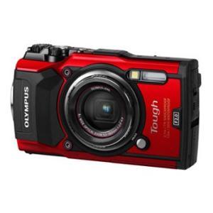 【あすつく】【選べる5年間延長保証対象(別料金)】オリンパス Tough TG-5 RED レッド|camera-saito