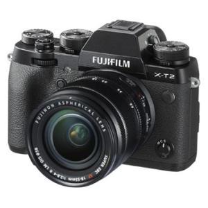 【あすつく】【選べる5年間延長保証対象(別料金)】フジフイルム FUJIFILM X-T2 レンズキット ブラック|camera-saito
