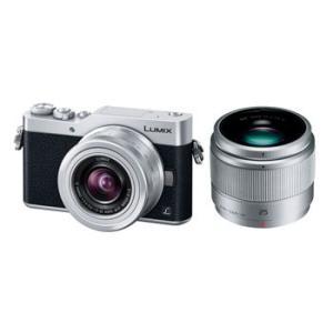 【あすつく】【選べる5年間延長保証対象(別料金)】パナソニック LUMIX DC-GF9W-S [ダブルレンズキット シルバー]|camera-saito
