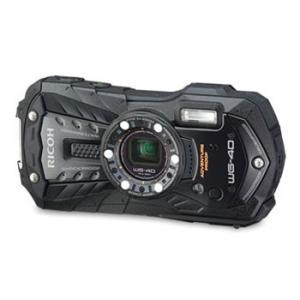 【あすつく】【選べる5年間延長保証対象(別料金)】リコー WG-40 ブラック|camera-saito