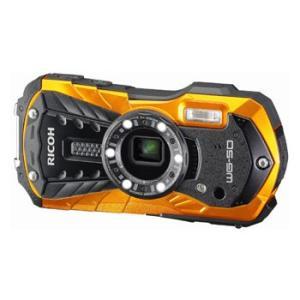 【あすつく】【選べる5年間延長保証対象(別料金)】リコー WG-50 オレンジ|camera-saito