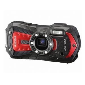 【あすつく】【選べる5年間延長保証対象(別料金)】リコー WG-60 レッド|camera-saito
