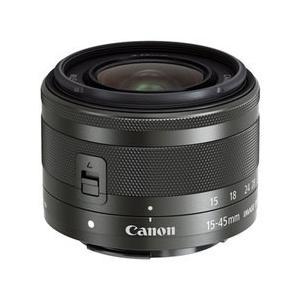キヤノン EF-M15-45mm F3.5-6.3 IS STM グラファイト 【メーカー取寄せ品】|camera-saito