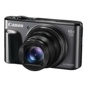 【あすつく】【選べる5年間延長保証対象(別料金)】キヤノン PowerShot SX720 HS ブラック|camera-saito