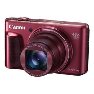 【あすつく】【選べる5年間延長保証対象(別料金)】キヤノン PowerShot SX720 HS レッド|camera-saito