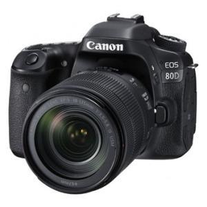 【あすつく】【選べる5年間延長保証対象(別料金)】キヤノン EOS 80D EF-S18-135 IS USM レンズキット|camera-saito